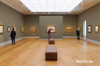 Ausstellungssal im Kunstmuseum Barberini in Potsdam