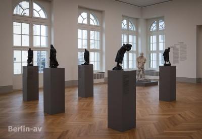 Skulpturen von Rodin im Museum Barberini