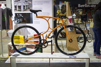 Berliner Fahrradschau 2017 - Rad von Vanhulsteijn aus Holland.
