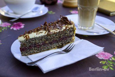 Torte im Familienbetrieb Cafe König am Mexikoplatz