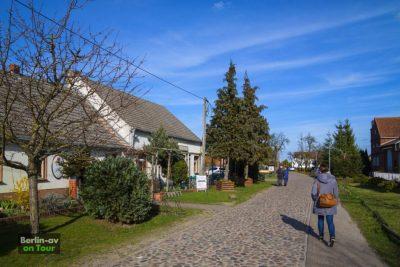 Das Dorf Körzin - Naturpark Nuthe-Nieplitz
