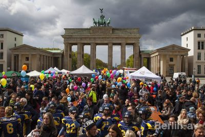 "Aktionstag ""Inklusion & Diversity"" auf dem Pariser Platz"