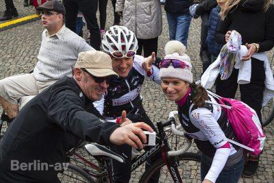 Selfie mit Sven Marx vor dem Brandenburger Tor