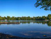 Natur in der Stadt: Sommeridylle am Berliner Weissen See