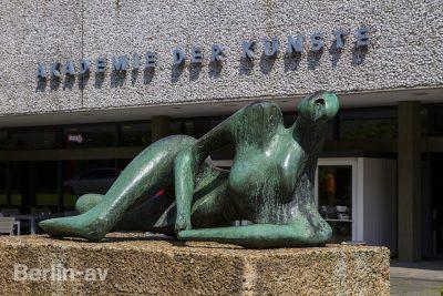 Die Akademie der Künste im Berliner Hansaviertel