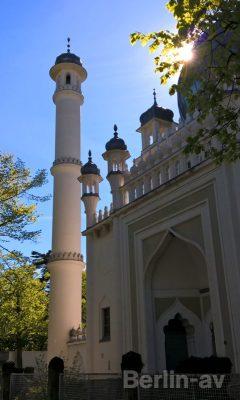 Die Ahmadiyya-Moschee - Berliner KIrchen