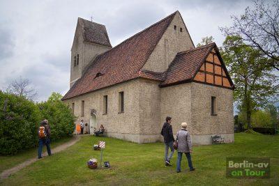 Die Dorfkirche von Blankensee - Naturpark Nuthe-Nieplitz