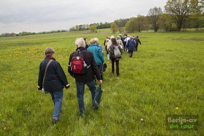 Unterwegs zur Streuobstwiese - Naturpark Nuthe-Nieplitz