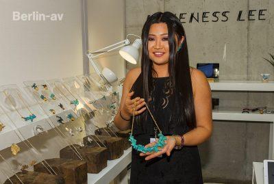 Loveness Lee und ihr Schmuck auf der Premium Modemesse 2017