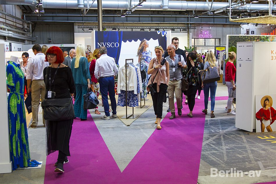 Publikum auf der Premium Modemesse im Juli 2017