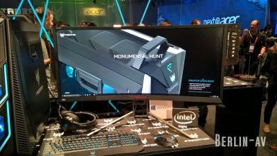 Predator X35 - Gaming Monitor von Acer auf der IFA 2017