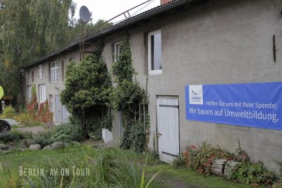 Das einhundert Jahre alte Haus der Storchenschmiede Linum