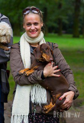 """Judith von """"Posh Teckel"""" mit Bonnie"""