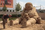 Sandsation, das Sandskulpturenfestival in Berlin