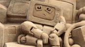 Sandsation, das Sandskulpturenfestival in Berlin