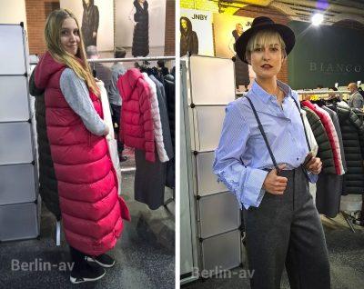 Daunenmantel und legeres Outfit von JNBY - Premium Berlin