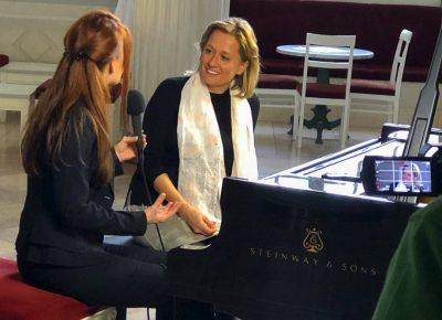 Anika Vavic im Gespräch mit Diana Richter