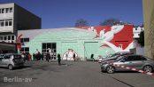 Die Autowerkstatt in der Wilhelmsaue wird in Kürze für den Bau eines Wohnhauses abgerissen. Wandelism