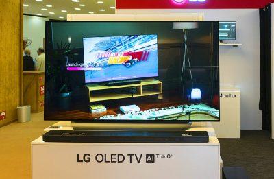 77 Zoll LED 4k Fernseher unter 10.000 Euro - IFA 2018