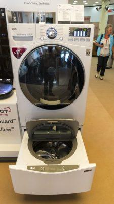 Waschvollautomat von LG 1-17 kg, Dampfreinigung - IFA 2018