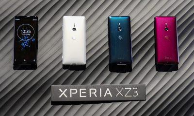 Das XPERIA XZ3 von Sony