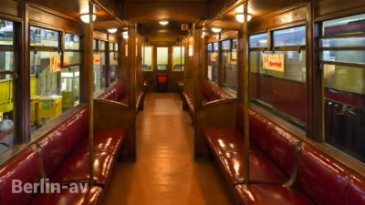 U-Bahnwaggon aus dem Jahr 1908