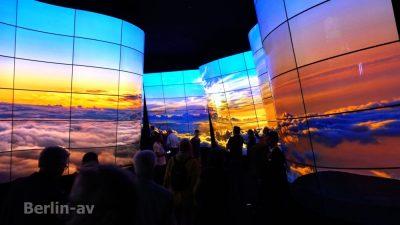 LG Fernsehtunnel mit grandioser Vorführung auf der IFA 2018