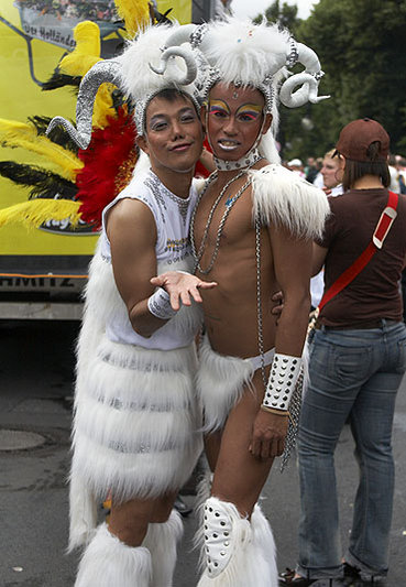 Christopher Street Day Parade 2008 in Berlin