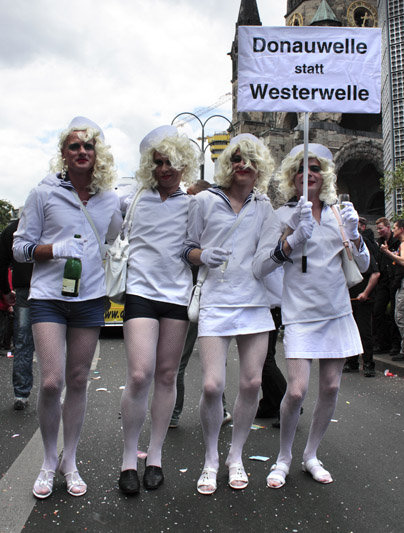 Christopher Street Day Parade 2010 in Berlin