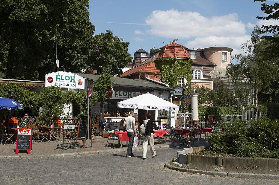 Radtour Grunewald: Der S-Bahnhof Grunewald