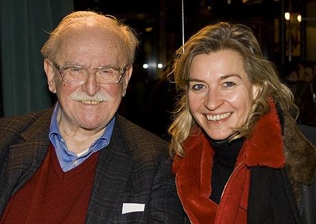 Fritz Rau (zu Gast beim Literarischen Salon Britta Gansebohm)