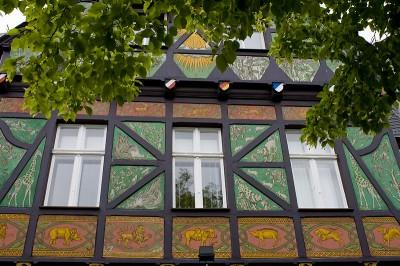 Fassade eines Hauses in Lichterfelde Ost