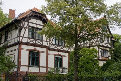 Typische Lichterfelder Häuser