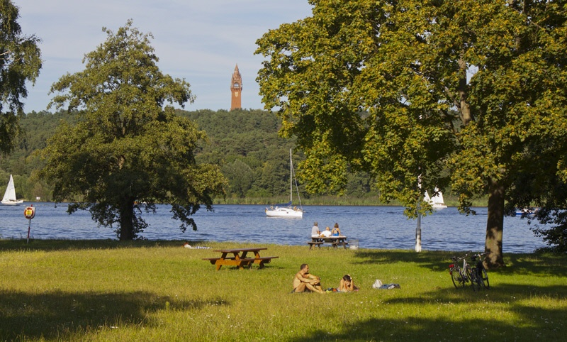 Sommer an der Berliner Havel