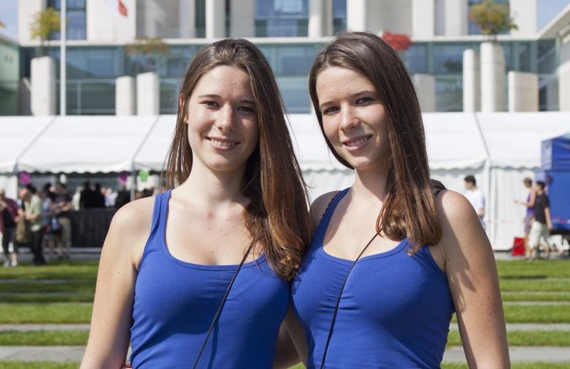 Zwillingstreffen in Berlin