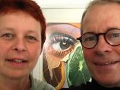 Die Filmemacher Antje Starost und Hans Helmut Grotjahn