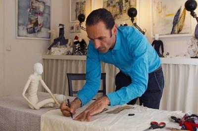 In der Puppenwerkstatt von Alla Hopp