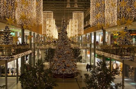 Weihnachten in den Potsdamer Platz Arkaden