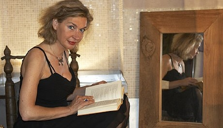 Britta Gansebohm, Gründerin des Literarischen Salons Berlin