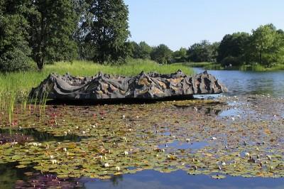 Erholung im Britzer Garten in Berlin