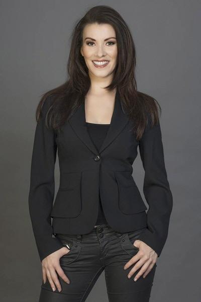 Moderatorin Diana Richter