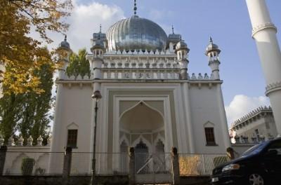 Nachbau des berühmten Taj Mahal in Wilmersdorf