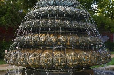 Indischer Brunnen in Kreuzberg - Berliner Brunnen