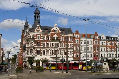 Der Schlossplatz von Alt-Köpenick