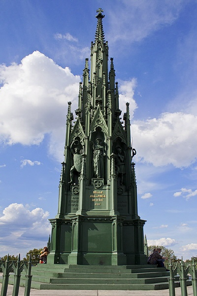 Denkmal auf dem Berliner Kreuzberg