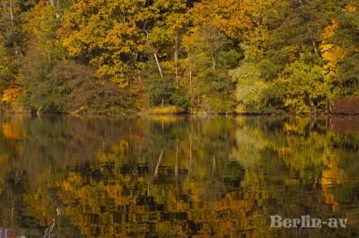 Die Krummen Lanke in Herbststimmung