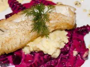 Essen im Munchs Hus in Berlin