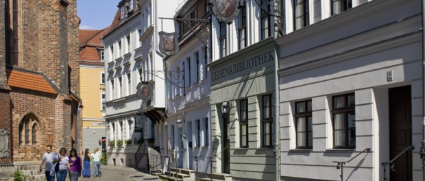 Gasse im Berliner Nikolaiviertel