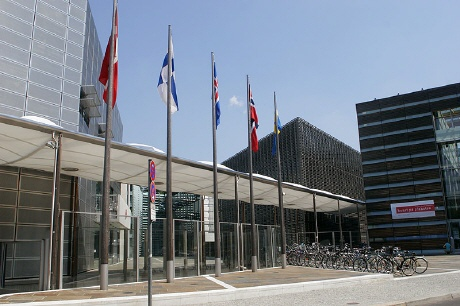 Nordische Botschaften in Berlin - Haupteingang