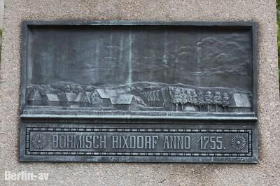 Gedenktafel in Rixdorf